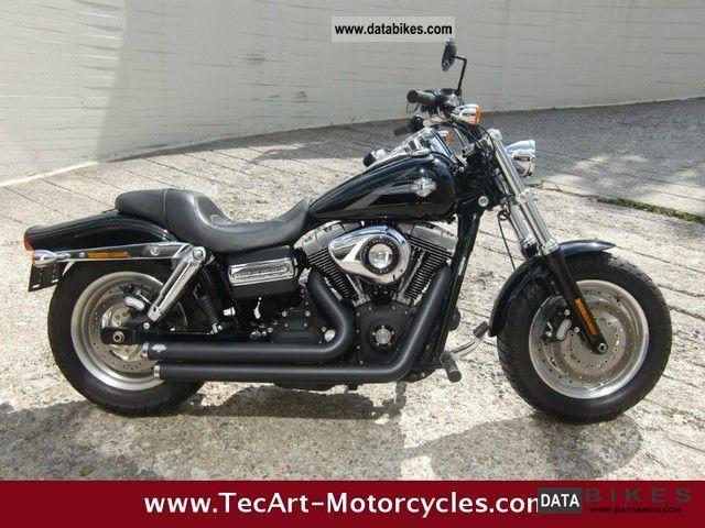 2008 Harley Davidson  2008er-later, Fat Bob, black, TOP Motorcycle Chopper/Cruiser photo