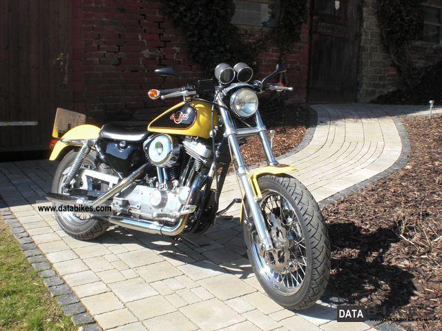 Harley Davidson  XL / 2 Sportster 1200 1995 Chopper/Cruiser photo