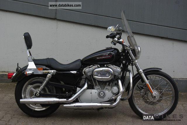 2008 Harley Davidson  Sportster Custom Black as new 2008er Motorcycle Chopper/Cruiser photo