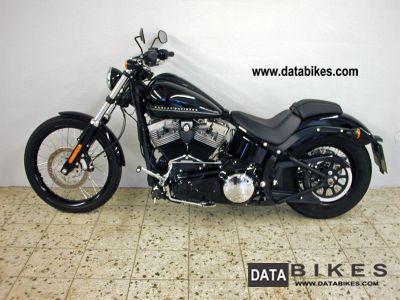 2011 Harley Davidson  FXS ABS, Black Line Black Line FXST Motorcycle Motorcycle photo