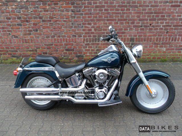 2001 Harley Davidson  2001's Fat Boy FLSTF Screamin Eagle Twin Cam Motorcycle Chopper/Cruiser photo