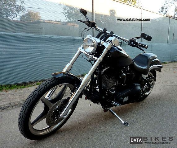 2001 Harley Davidson  Softail Deuce FXSTD carburetor (many extras) Motorcycle Chopper/Cruiser photo