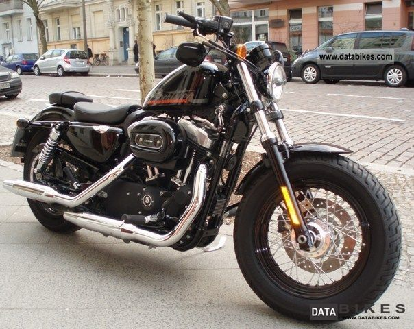 2010 Harley Davidson  Forty-eight XL1200 X Motorcycle Chopper/Cruiser photo