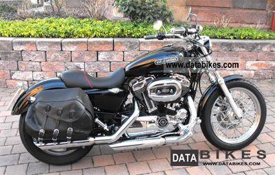 2009 Harley Davidson  Sportster XL1200L like new - 3550 km Motorcycle Chopper/Cruiser photo