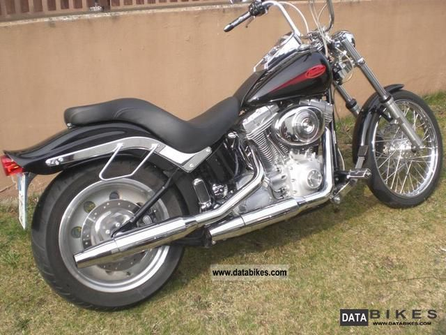 2006 harley davidson softail standard fxsti. Black Bedroom Furniture Sets. Home Design Ideas