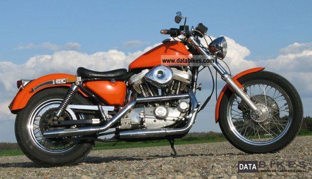 1988 Harley Davidson  Sportster XLH 883 + + + + + + Custom Sporty Motorcycle Chopper/Cruiser photo