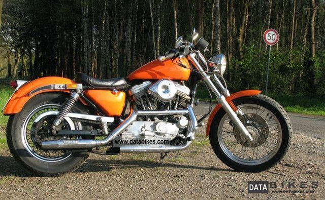 1988 Harley Davidson Sportster Xlh 883 Custom border=