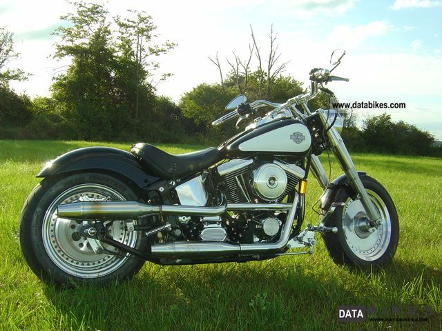 1996 Harley Davidson  Softail Fatboy Softail Custom Chrome Tail 240 Ricks Motorcycle Chopper/Cruiser photo