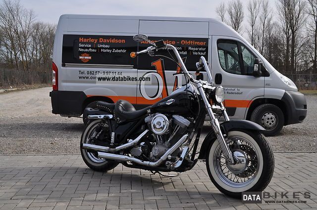1988 Harley Davidson  FXRP Motorcycle Chopper/Cruiser photo