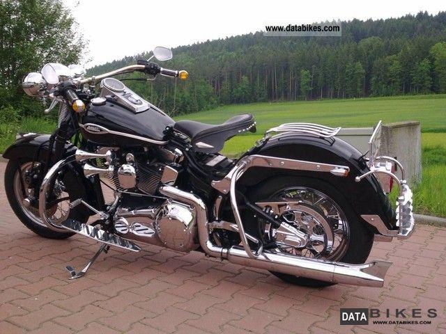 2006 Harley Davidson  Springer Classic FLSTSCI Motorcycle Chopper/Cruiser photo