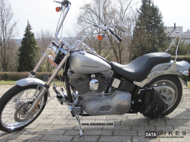 2006 Harley Davidson  FXSTI Softail Standard Motorcycle Chopper/Cruiser photo