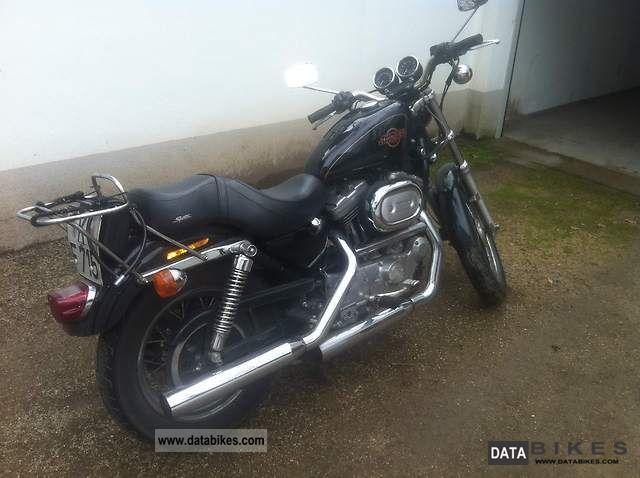 1998 Harley Davidson  Sportster 1200 Custom Motorcycle Naked Bike photo