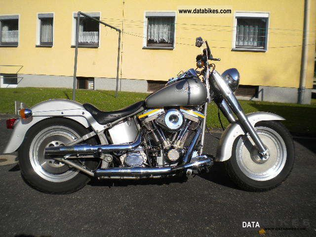 1990 Harley Davidson  Softail Fat Boy Grey Ghost Motorcycle Chopper/Cruiser photo