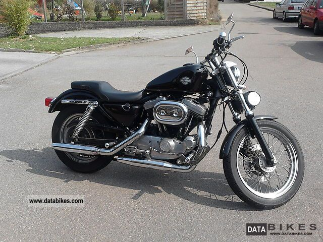 1997 Harley Davidson  Sportster 883 Motorcycle Chopper/Cruiser photo