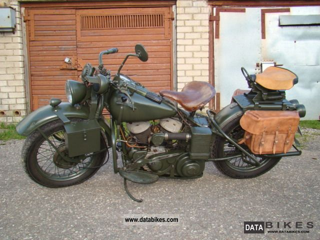 Harley Davidson  wla-42 1942 Vintage, Classic and Old Bikes photo