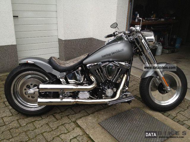 1999 Harley Davidson  FLSTF Softail Fat Boy reconstruction Motorcycle Chopper/Cruiser photo