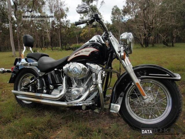 2006 Harley Davidson  FLSTI soft tail Heritage Motorcycle Chopper/Cruiser photo