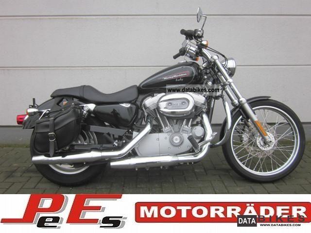 2010 Harley Davidson  XL 883 Custom * C * German model Motorcycle Chopper/Cruiser photo