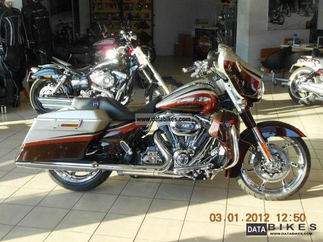 2011 Harley Davidson  FLHXSE STREET GLIDE CVO Motorcycle Chopper/Cruiser photo