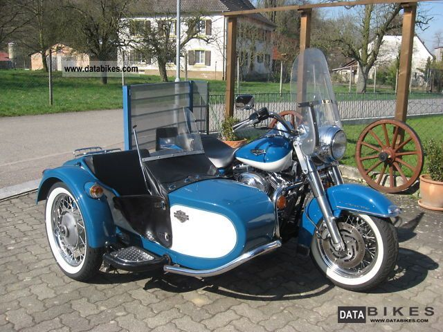 2001 Harley Davidson  Road King trailer top Motorcycle Combination/Sidecar photo