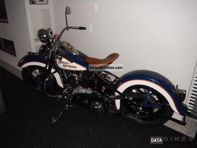1942 Harley Davidson U 74ci Flathead