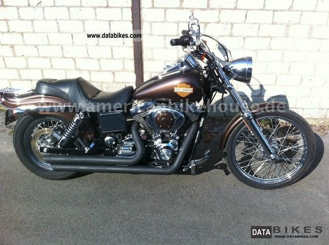 2004 Harley Davidson  Wide Glide FXDWG, very nice finish Motorcycle Chopper/Cruiser photo