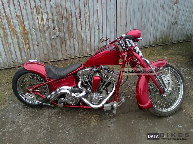 1949 Harley Davidson  Wisbone Motorcycle Chopper/Cruiser photo