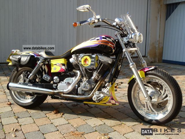 1998 Harley Davidson Dyna Superglide EVO engine