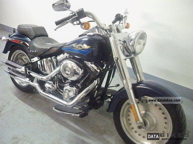 2008 Harley Davidson  FLSTF Fat Boy Fatboy FLSTFI Motorcycle Chopper/Cruiser photo