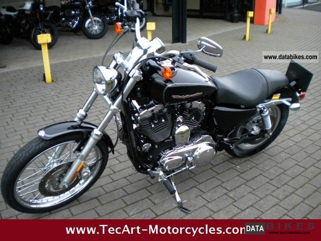 2006 Harley Davidson  Thru 2006 Sportster 1200 CUSTOM black, excellent condition Motorcycle Chopper/Cruiser photo