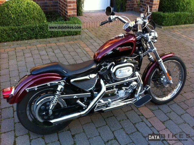 2000 Harley Davidson  Sportster XL 1200 Custom / REDUCED Motorcycle Chopper/Cruiser photo