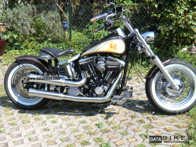 Harley Davidson  FXSTC conversion 1996 Chopper/Cruiser photo