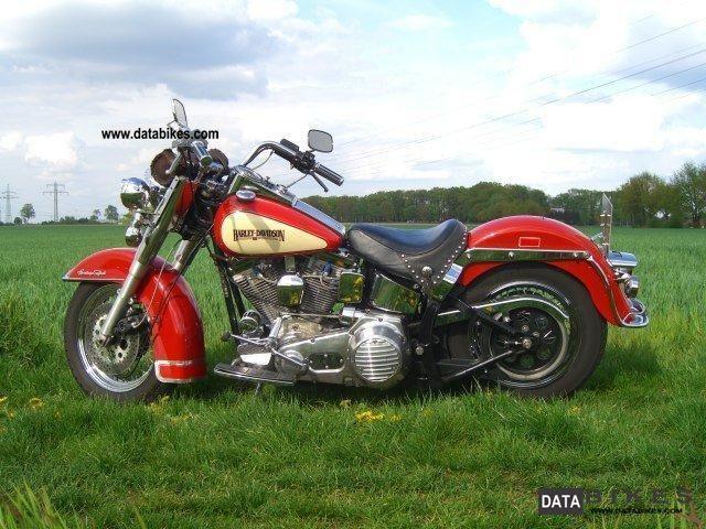 1986 Harley Davidson  heritage softail Motorcycle Chopper/Cruiser photo