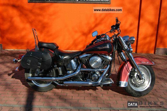1998 Harley Davidson  Heritage Softail / FLSTC Fat Boy Motorcycle Chopper/Cruiser photo