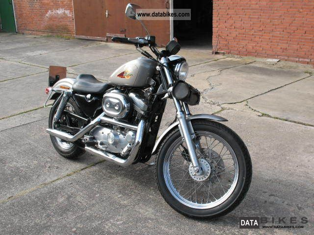 1997 Harley Davidson  Sportster XL / 2 Motorcycle Chopper/Cruiser photo