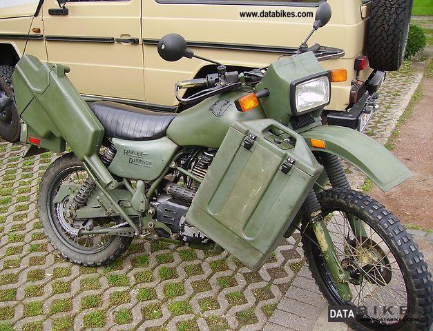 1996 Harley Davidson  MT 350 Motorcycle Enduro/Touring Enduro photo