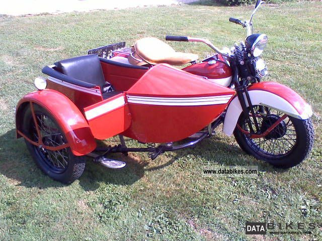Harley Davidson  Sidecar with reverse gear SSC *** TOP *** 1947 Vintage, Classic and Old Bikes photo