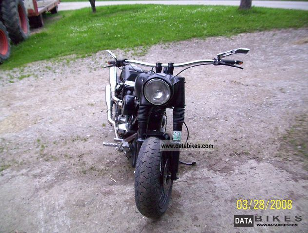 1980 Harley Davidson Shovelhead - Conversion 200 tires