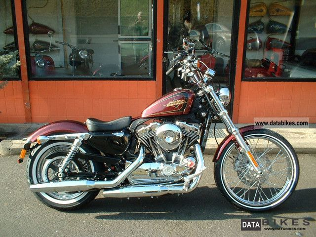 2012 Harley Davidson  Seventy Two Sportster 1200 72, German Mod.2012 Motorcycle Chopper/Cruiser photo