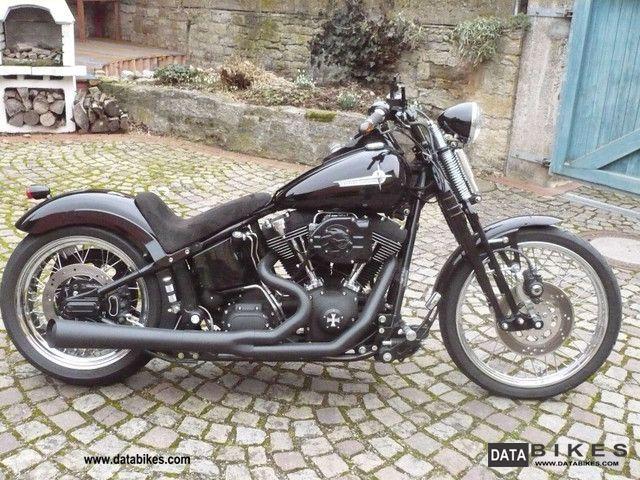 2001 Harley Davidson  FXSTB Night Train Springer Motorcycle Chopper/Cruiser photo