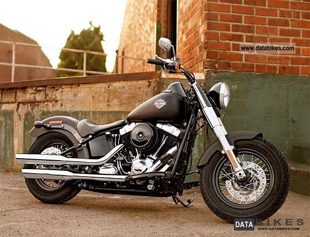 Harley Davidson  2012er SOFTAIL SLIM, black vivid, 1690cc NEW 2012 Chopper/Cruiser photo