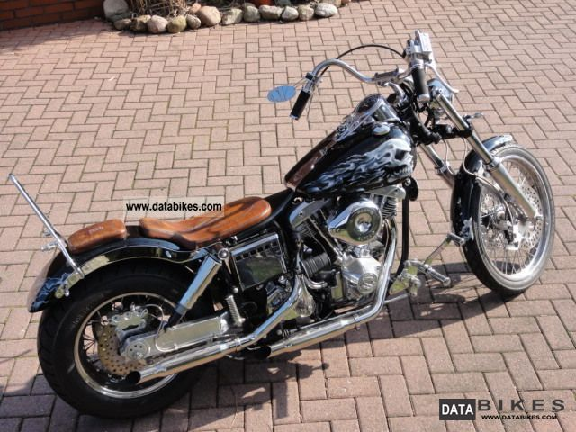 Harley Davidson  Custom Shovelhead FX conversion 1976 Vintage, Classic and Old Bikes photo