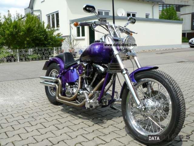 1988 Harley Davidson  FXSTC - Custom Bike Wg lack of space for sale Motorcycle Chopper/Cruiser photo