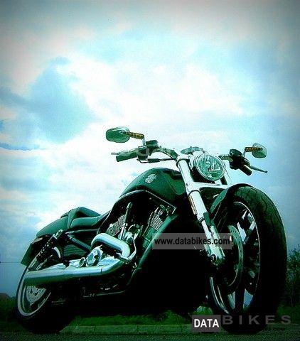 2010 Harley Davidson  V-Rod Muscle VRSCF 1250 ABS, NO U.S. import! Motorcycle Chopper/Cruiser photo