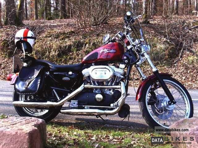 2001 Harley Davidson  Sportster1200. Custom XL1 Motorcycle Chopper/Cruiser photo