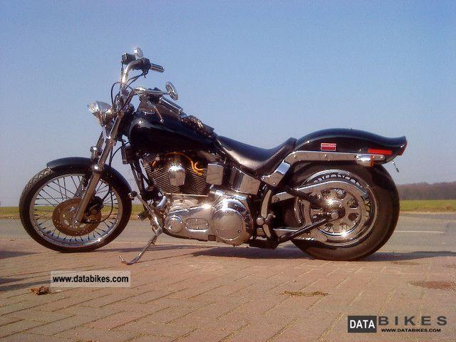 Harley Davidson  Evo Softail FXST 1987 Chopper/Cruiser photo