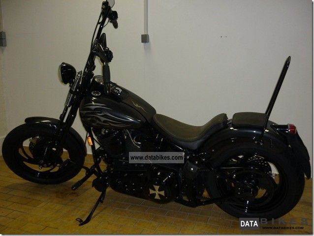 1995 Harley Davidson  Custom Springer FLST A DREAM! Motorcycle Chopper/Cruiser photo