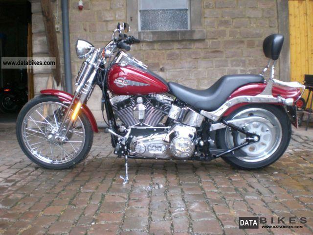 2006 Harley Davidson  FXSTS Springer Softail Motorcycle Chopper/Cruiser photo
