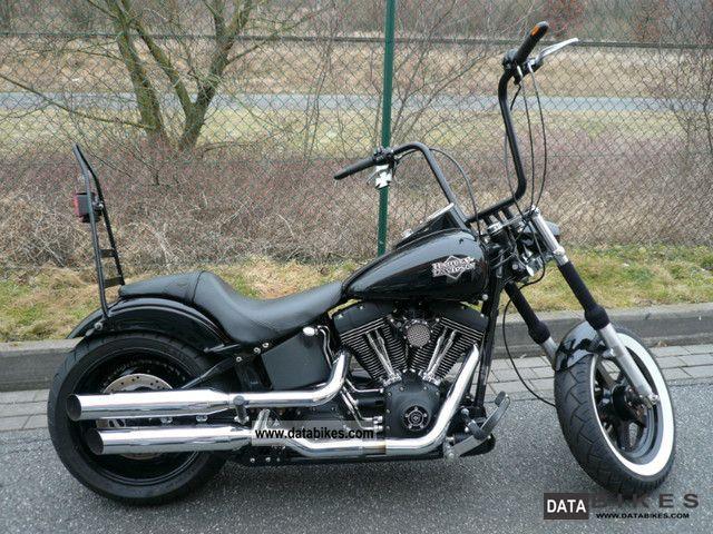 2004 Harley Davidson  FXSTB Night Train Motorcycle Chopper/Cruiser photo