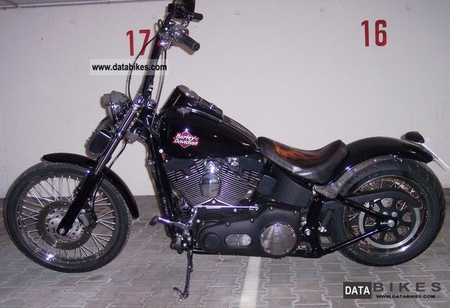 Harley Davidson  Softail W & F 2002 Chopper/Cruiser photo